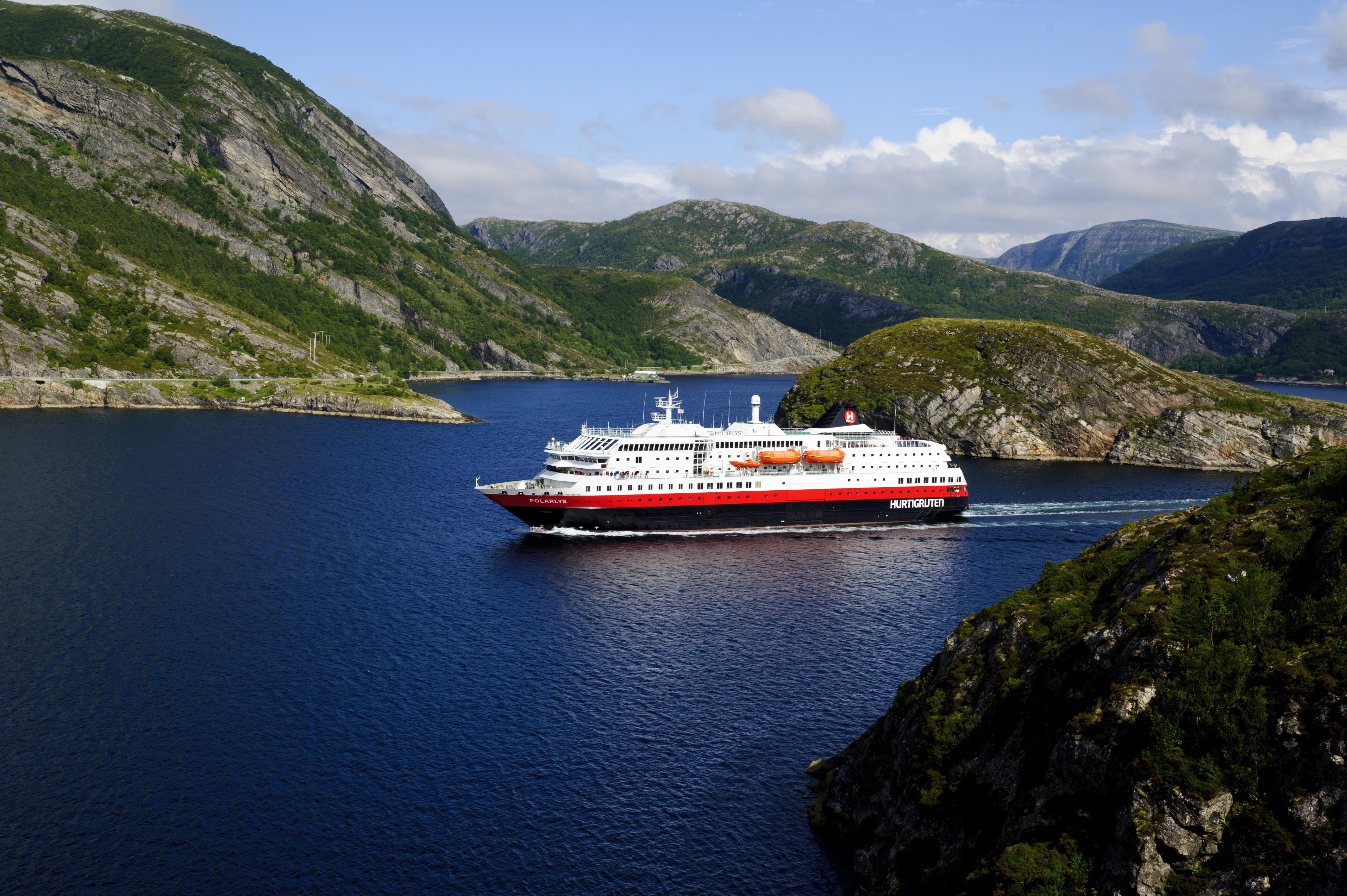 Karte Norwegen Hurtigruten.Hurtigruten Norwegen Mit Dem Postschiff